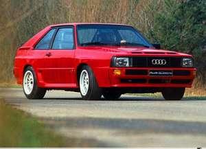 Audi Quattro (85) 2.1 Turbo 85 200 HP