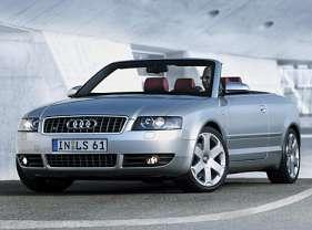 Audi S4 Cabriolet 4.2 i V8 40V quattro 344 HP