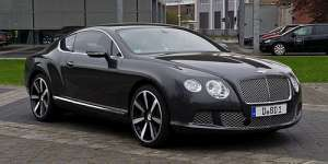 Bentley Continental GT II Coupe Supersports 6.0 AT (630 HP) 4WD
