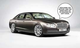 Bentley Flying Spur 6.0 AT (625 HP) 4WD