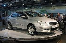 Chery M11 Sedan 1.6i 117HP