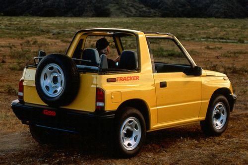 Chevrolet Tracker 1.6 i 16V 97 HP
