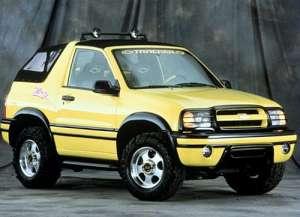Chevrolet Tracker 2.5 i V6 24V 4WD 167 HP