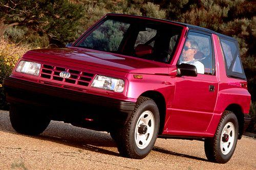 Chevrolet Tracker Convertibe 1.6 i 16V 4WD 97 HP