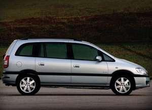 Chevrolet Zafira 2.0 16V 136 HP