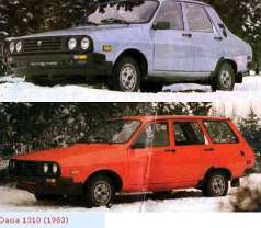 Dacia 1310 Kombi 1.4 i 62 HP