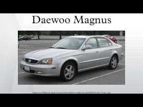 Daewoo Magnus 2.5 i 162 HP