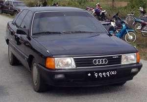 FAW Audi 100 2.6 i V6 150 HP