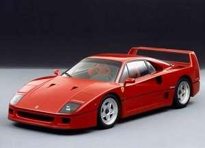 Ferrari F40 2.9 i V8 32V 478 HP