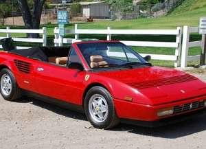 Ferrari Mondial Cabrio 3.4 i V8 32V 286 HP