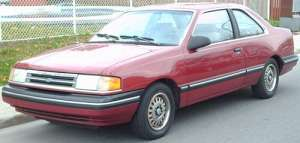 Ford Tempo Coupe 2.3 102 HP