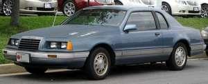 Ford Thunderbird (Aero Birds) 5.0 Windsor V8 140 HP