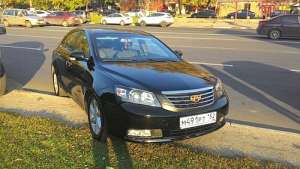 Geely Emgrand EC7 Sedan 1.8 CVT (126 HP)