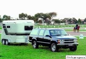 Holden Suburban (8KL35) 6.5 i V8 SLE 4WD 195 HP