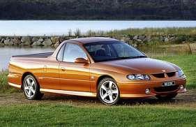 Holden UTE 5.0 i V8 32V VR 6 265 HP