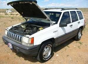 Jeep Grand Cherokee I (Z) 4.0 i 4WD 190 HP