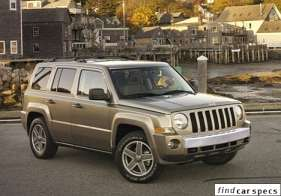Jeep Patriot 2.4 i 16V 4WD 174 HP