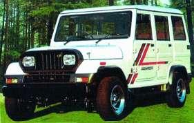 Mahindra Armada (CJ7) 2.4 D 4WD 62 HP