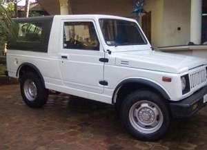 Maruti Gypsy Cabrio 1.3 i 16V Gypsy King 80 HP