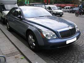 Maybach 57 5.5 i V12 bi turbo 550 HP