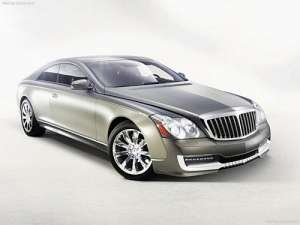 Maybach 57 S Xenatec Coupe 6.0i V12 (612Hp)
