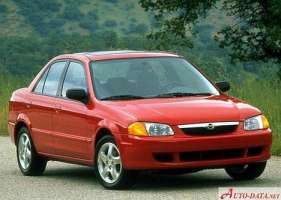 Mazda Protege 1.5 i 110 HP