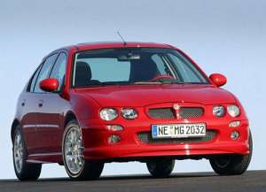 MG ZR 1.4 i 16V 103 HP