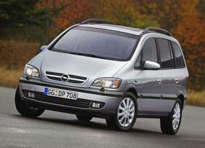 Opel Zafira A (T3000) 1.8 16V 125 HP