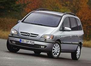 Opel Zafira A (T3000) 2.2 DTI 125 HP