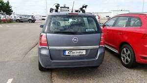 Opel Zafira B 1.6 CNG (94Hp)