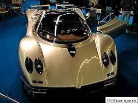 Pagani Zonda C12 7.3 i V12 48V 550 HP