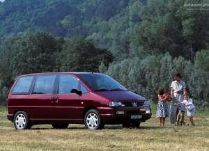 Peugeot 806 (221) 2.1 td 12V 109 HP