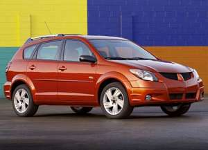 Pontiac Vibe I 1.8 i 16V AWD 124 HP