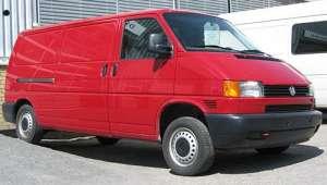 Volkswagen Transporter T4 2.5d MT (102 HP) 4WD